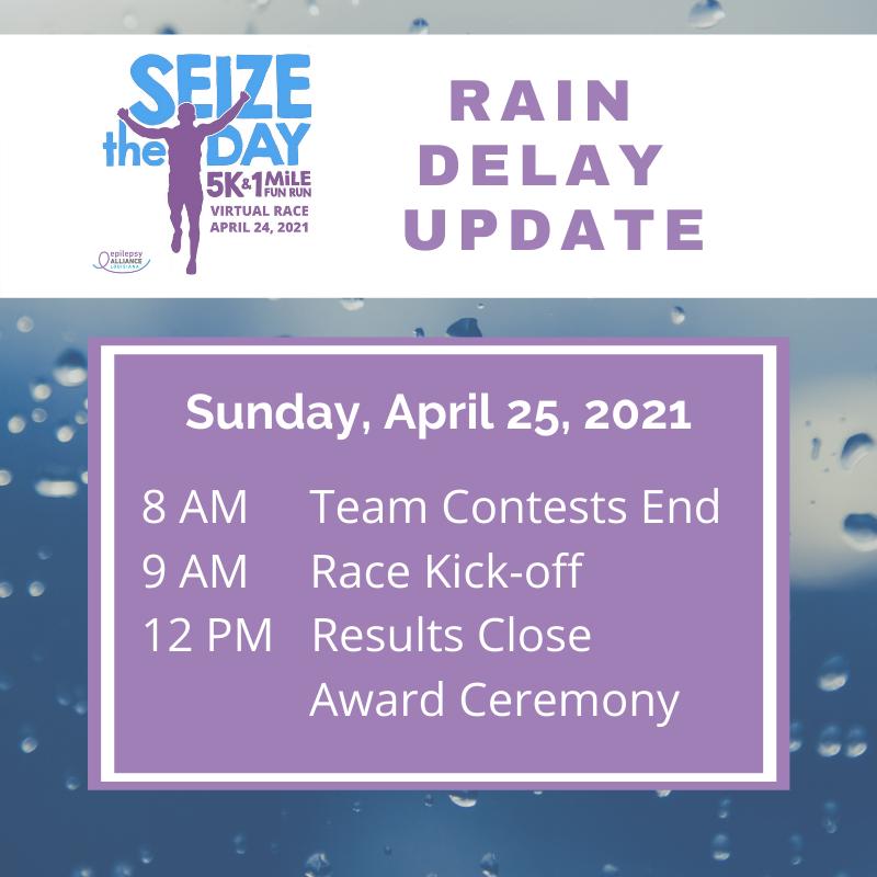 Seize the Day Rain Delay Update (1)